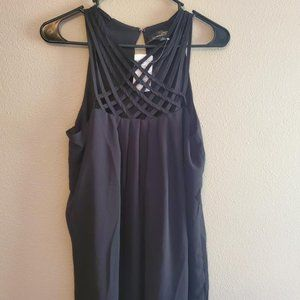 NWT: Suzanne Betro Black Weekend Top